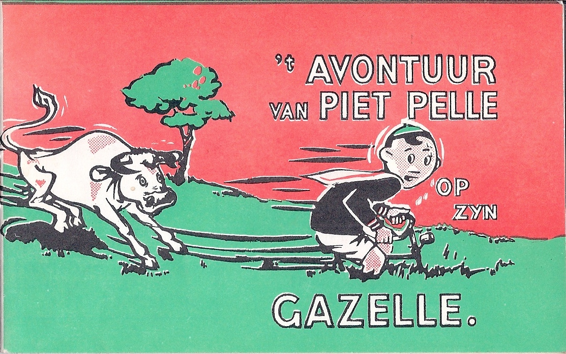 't Avontuur Van Piet Pelle Op Zijn Gazelle