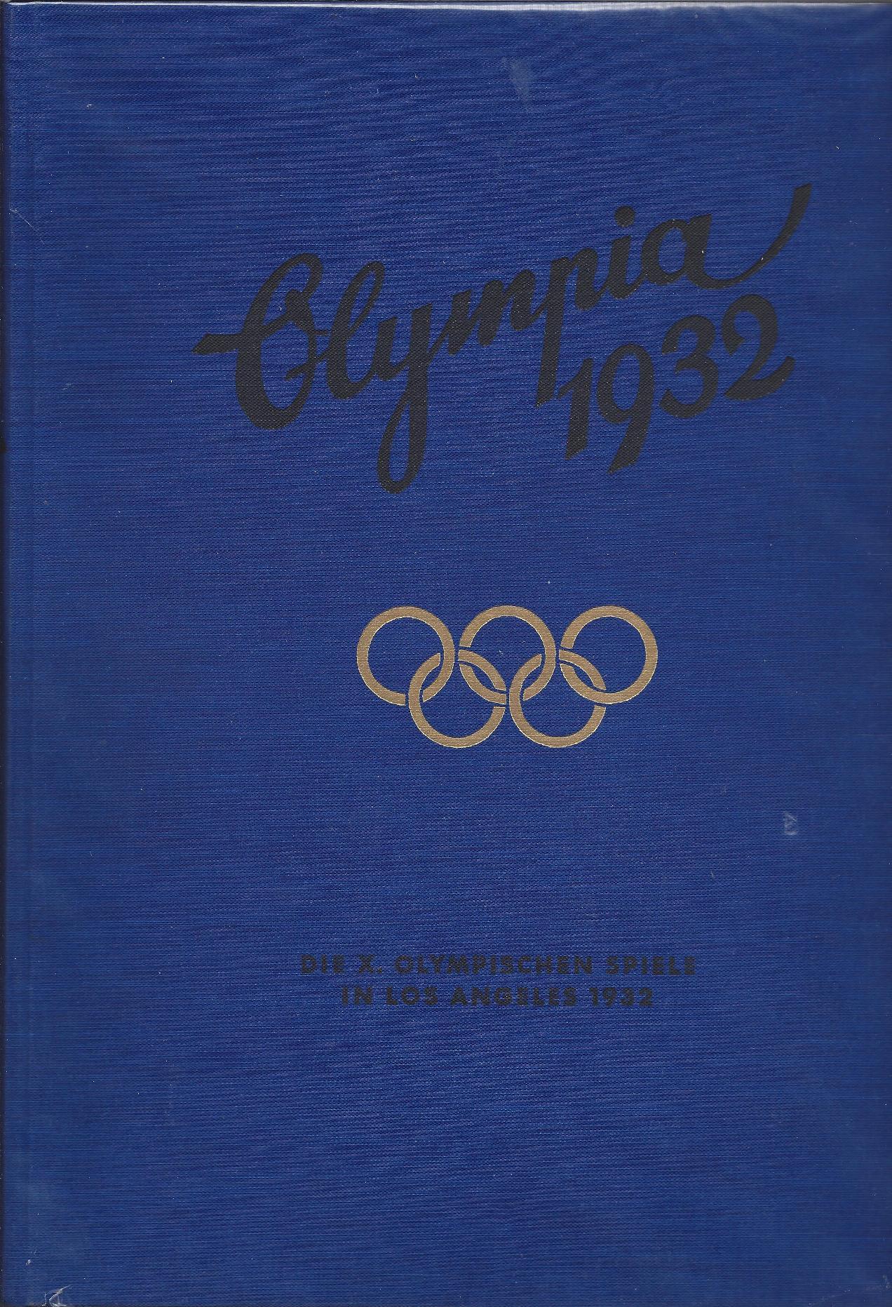 Medaillenspiegel Olympia 1932