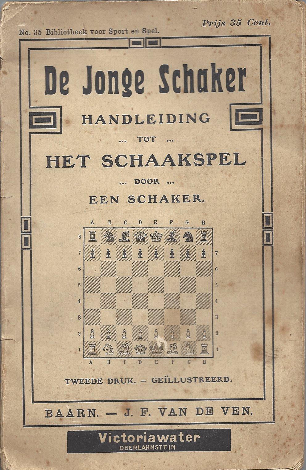 EEN SCHAKER - De jonge schaker