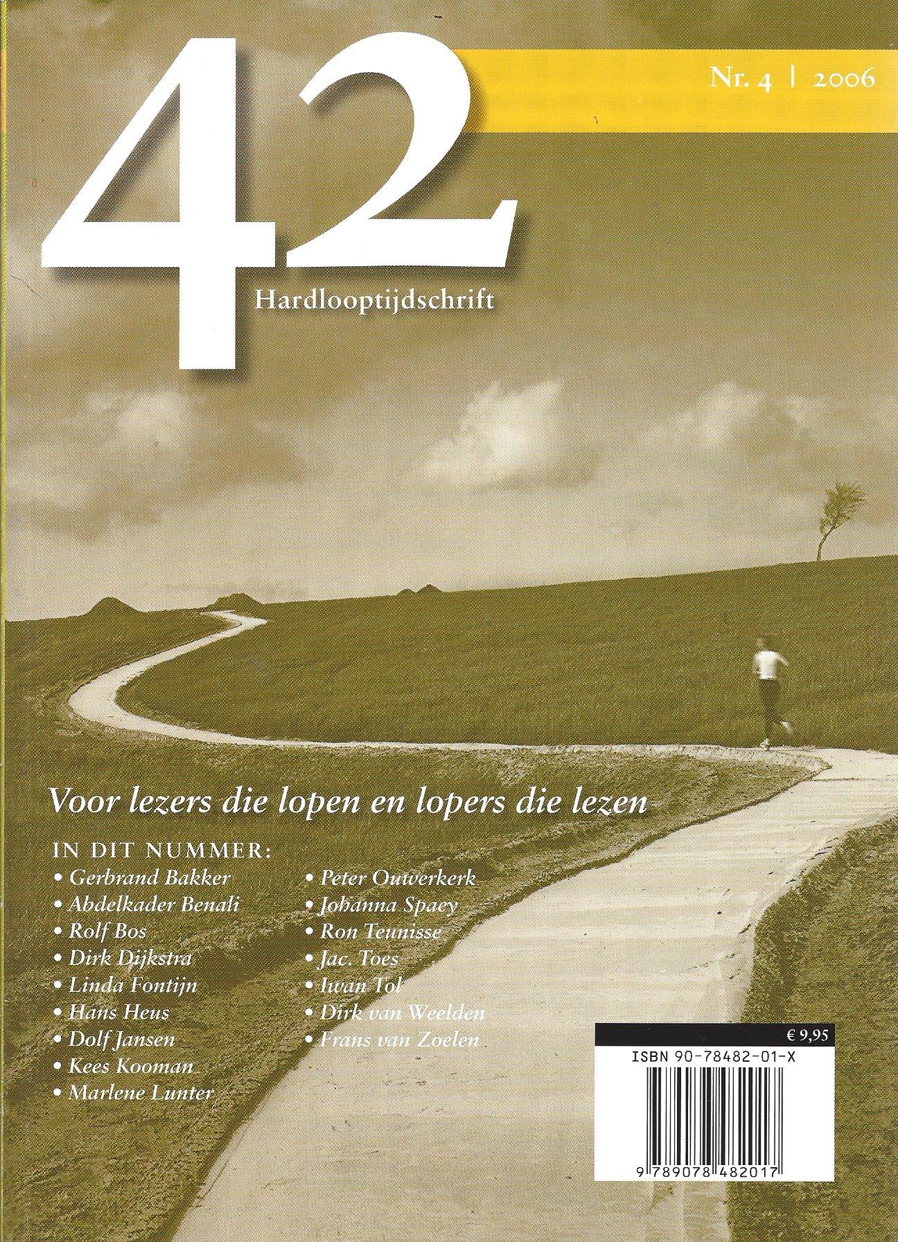Redactie - 42 - hardlooptijdschrift - No. 4