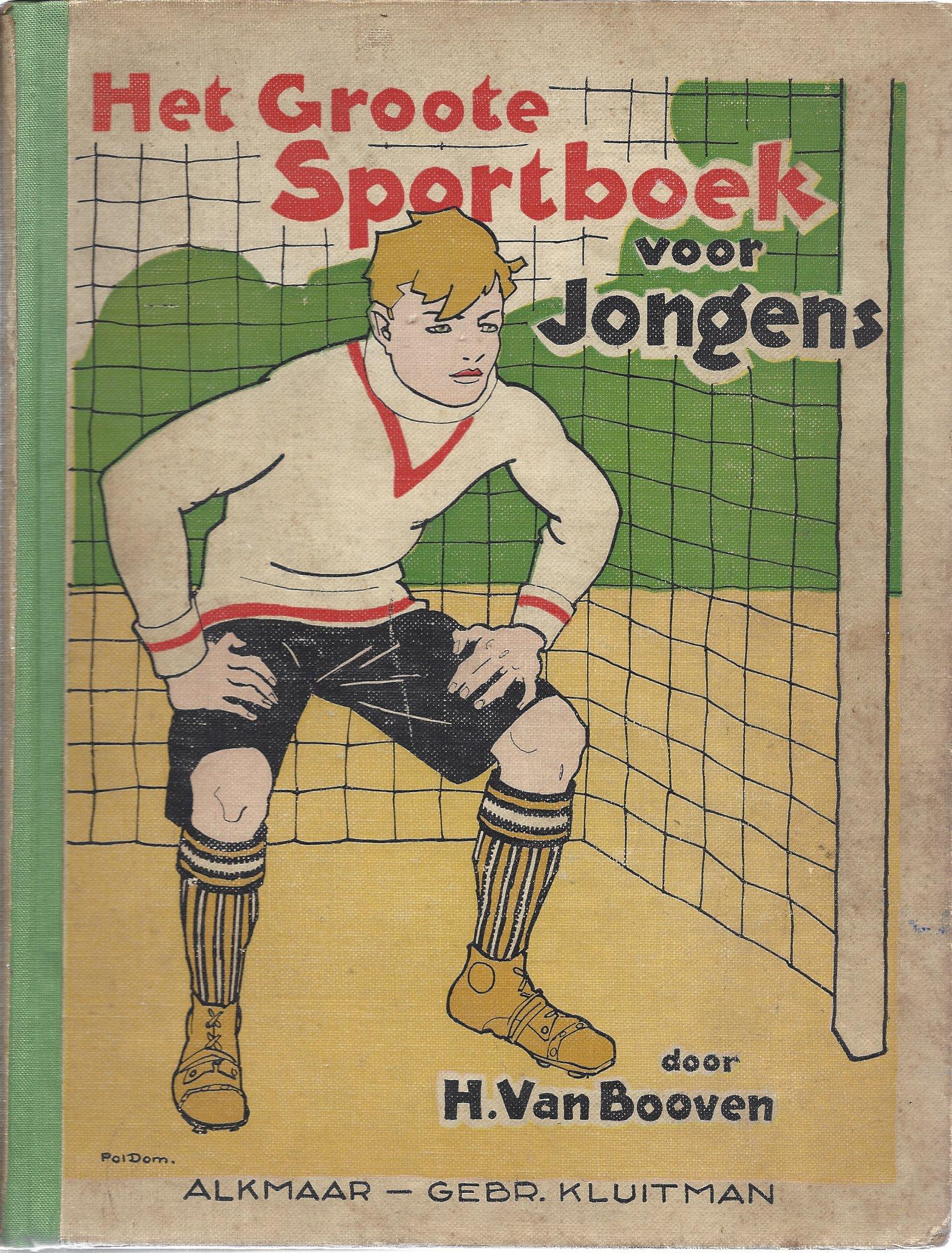 DIVERSE - Het Groote Sportboek voor Jongens