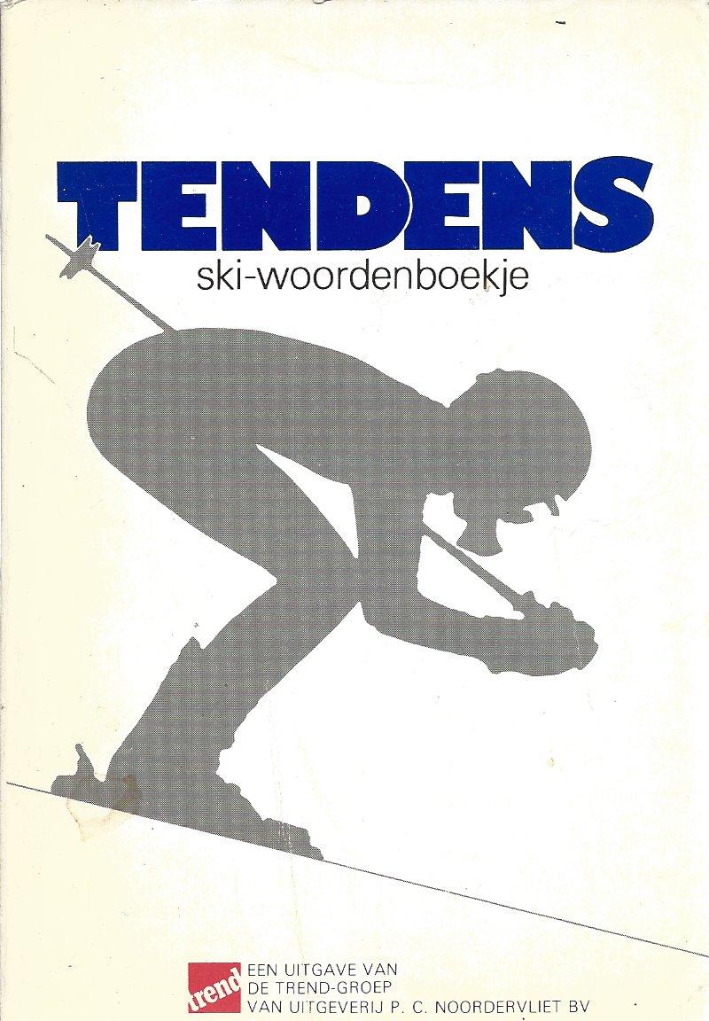 - Tendens ski-woordenboekje