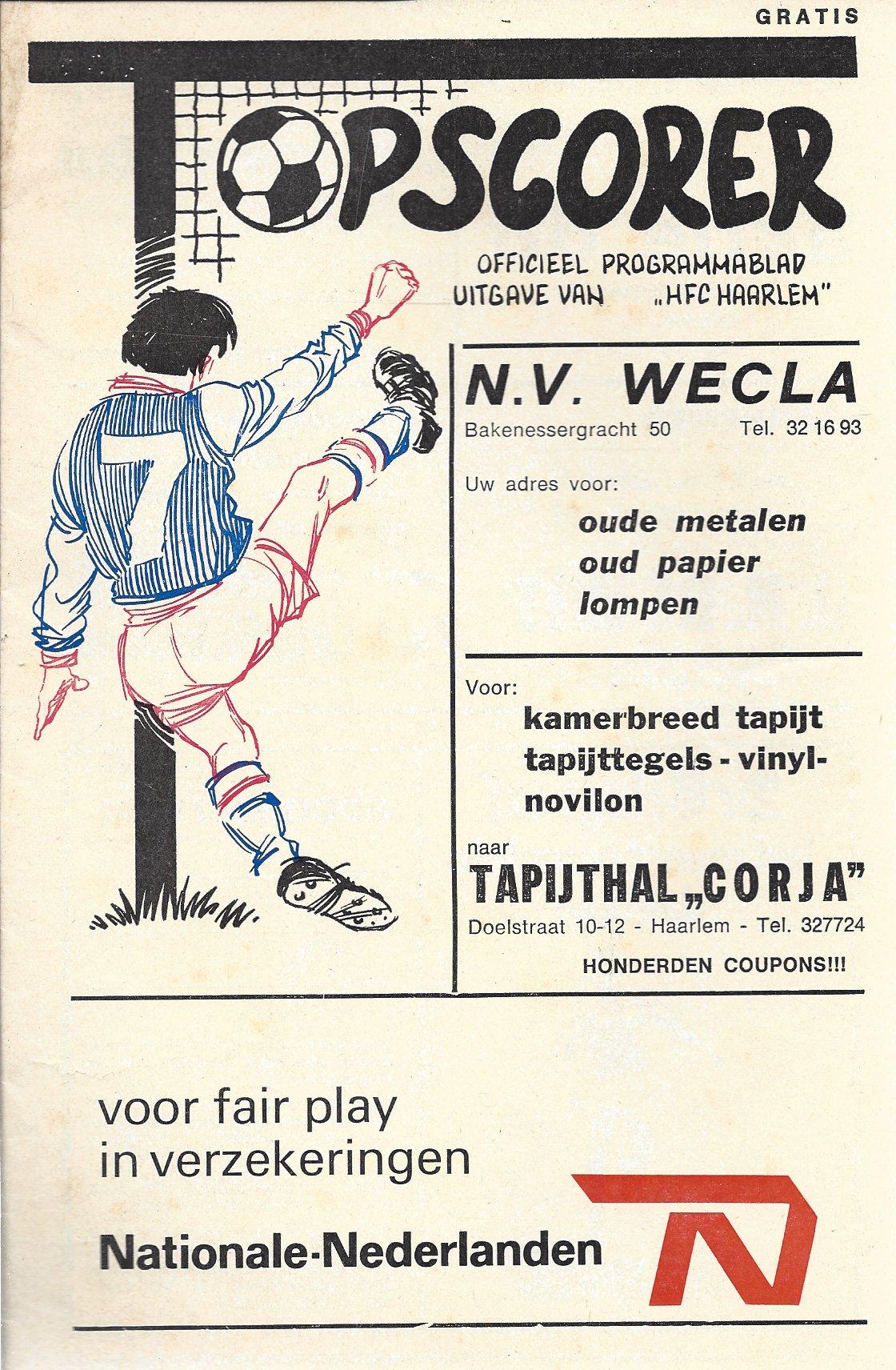 nvt - Topscorrer (HFC Haarlem)