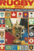 Rugby world and post official world cup guide 1991