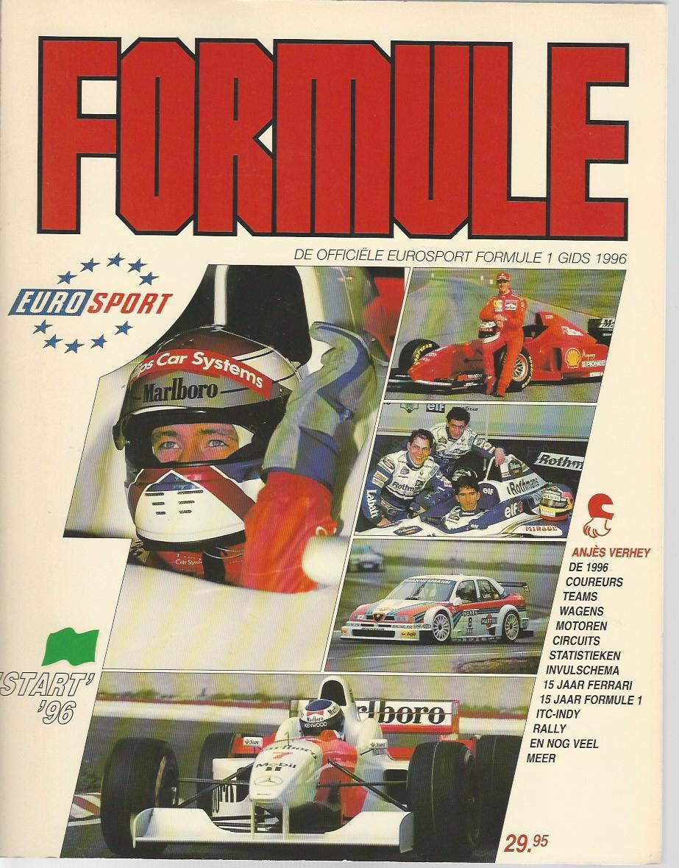 DIVERSE - Formule -De officiële Eurosport Formule 1 Gids 1996