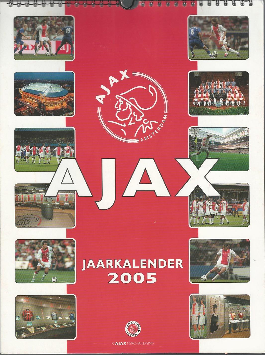 - Ajax jaarkalender 2005