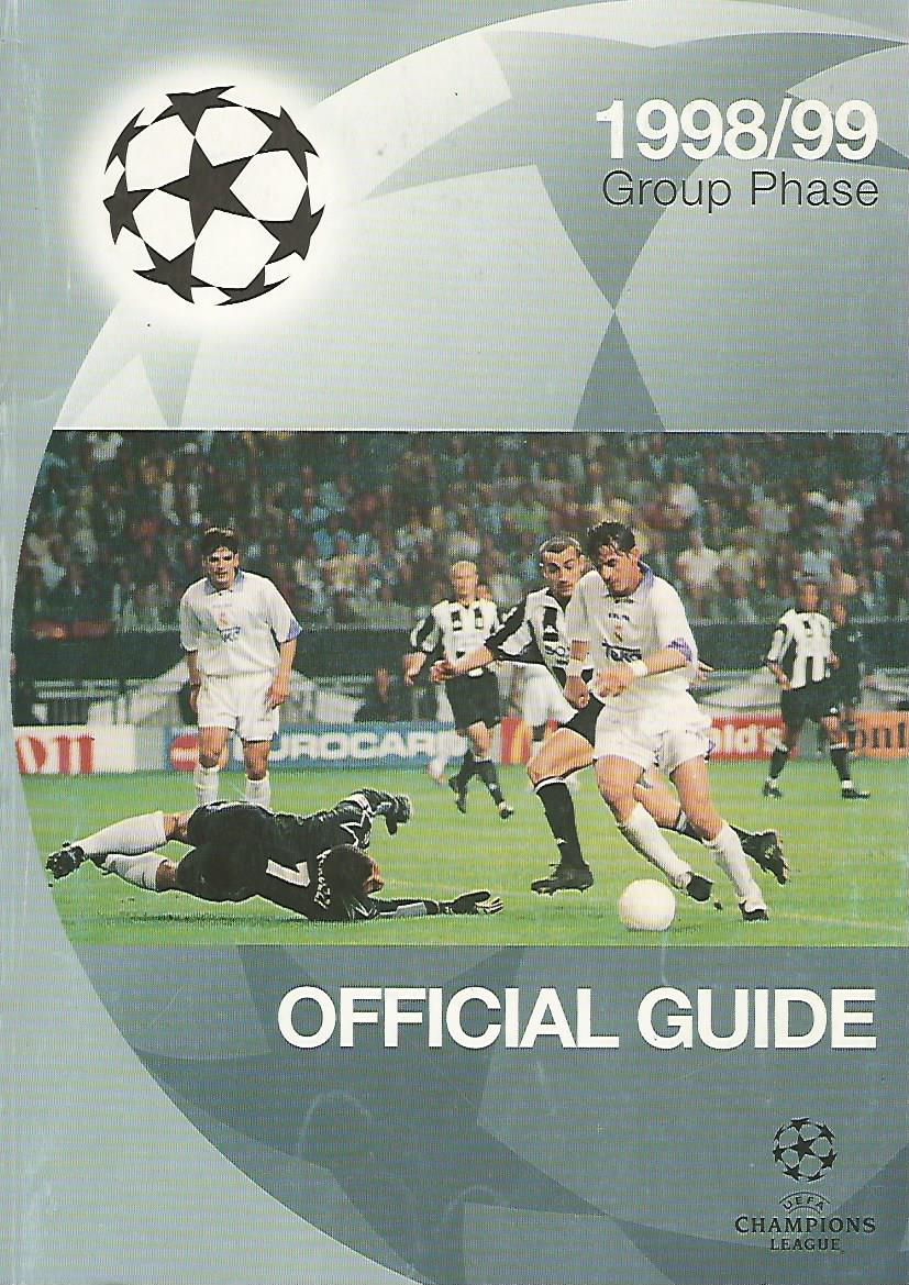 - Official Guide UEFA Champions League 1998/99 Group Phase
