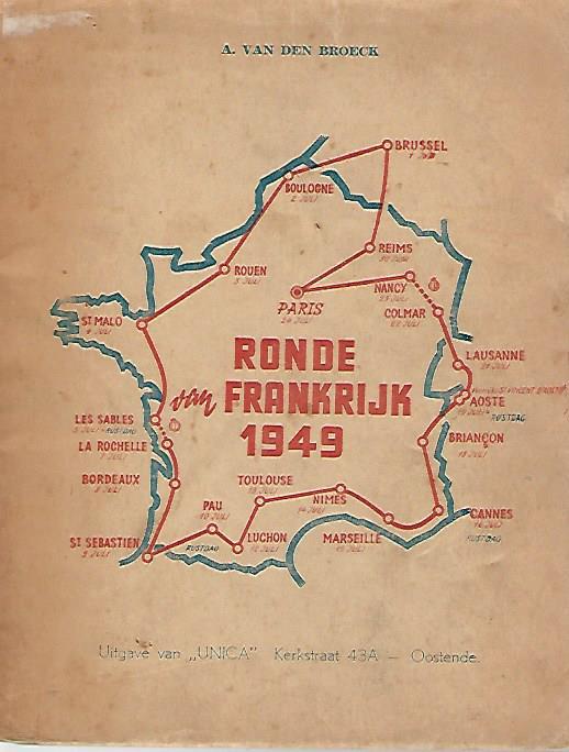 BROECK, A. VAN DEN - Ronde van Frankrijk 1949